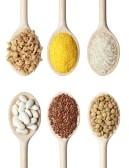 wooden spoon grains