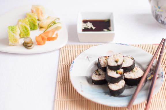 Wholefood Harmony Sushi