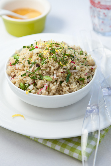Lemon Scented Quinoa Salad | Wholefood Harmony - Delicious Natural ...